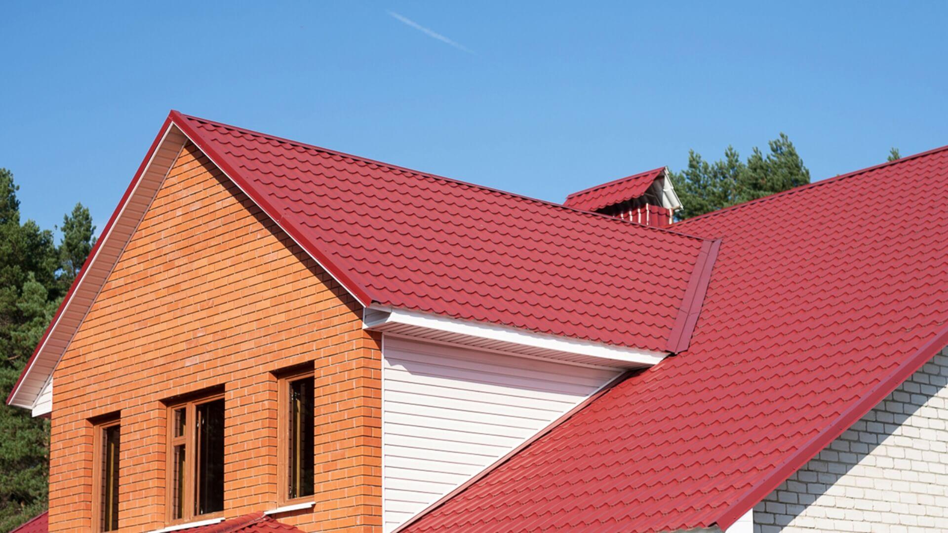 имеет фото крыши домов из металлочерепицы монтеррей работает спрингфилде атомной